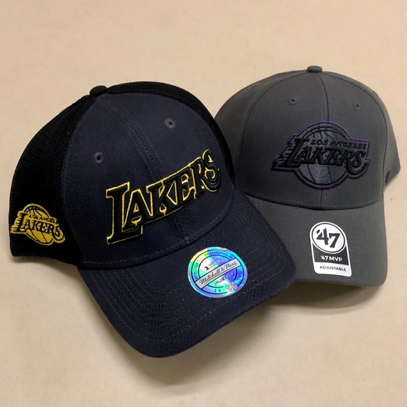 Los Angeles Lakers - NEW Exclusive Hats 🏀. NWT. Mitchell   Ness 09bc0cae5